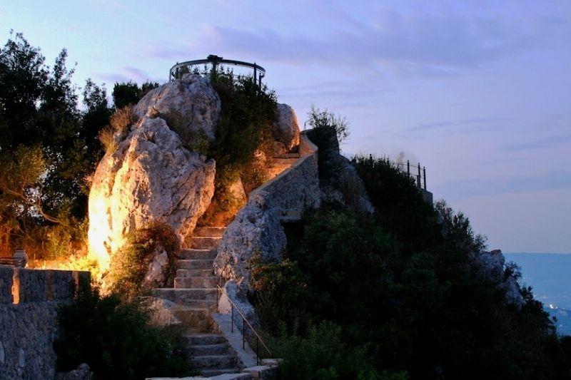 """Смотровая площадка """"Трон Кайзера"""", остров Корфу, Греция"""