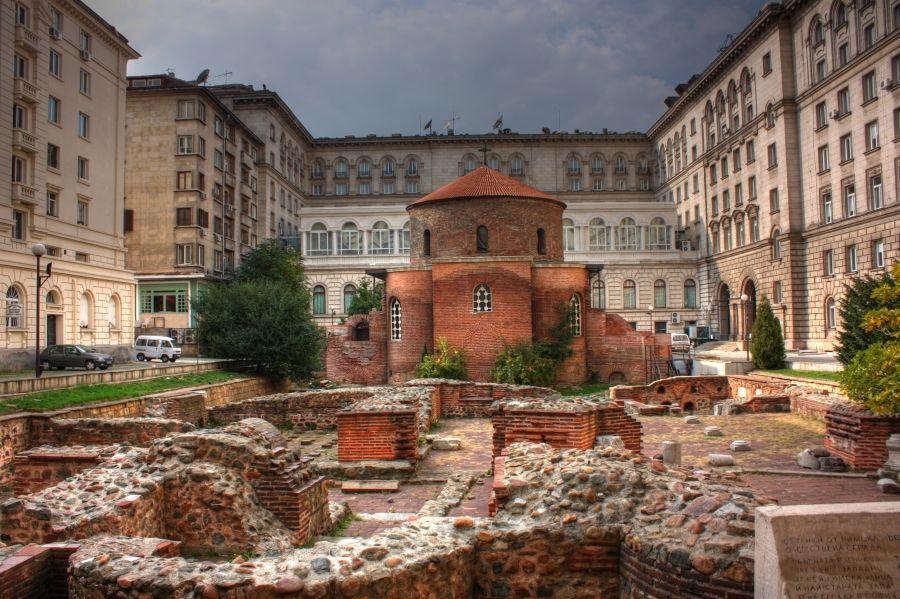 Ротонду Святого Георгия - самая древняя церковь Софии