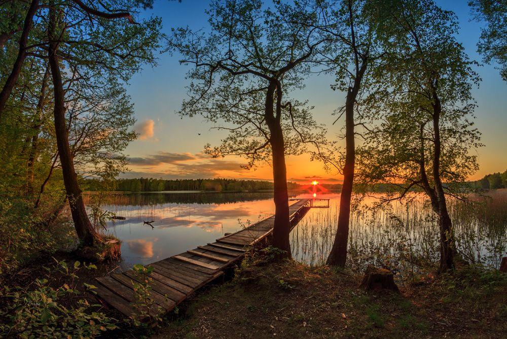 Белое озеро близ Бреста, Беларусь
