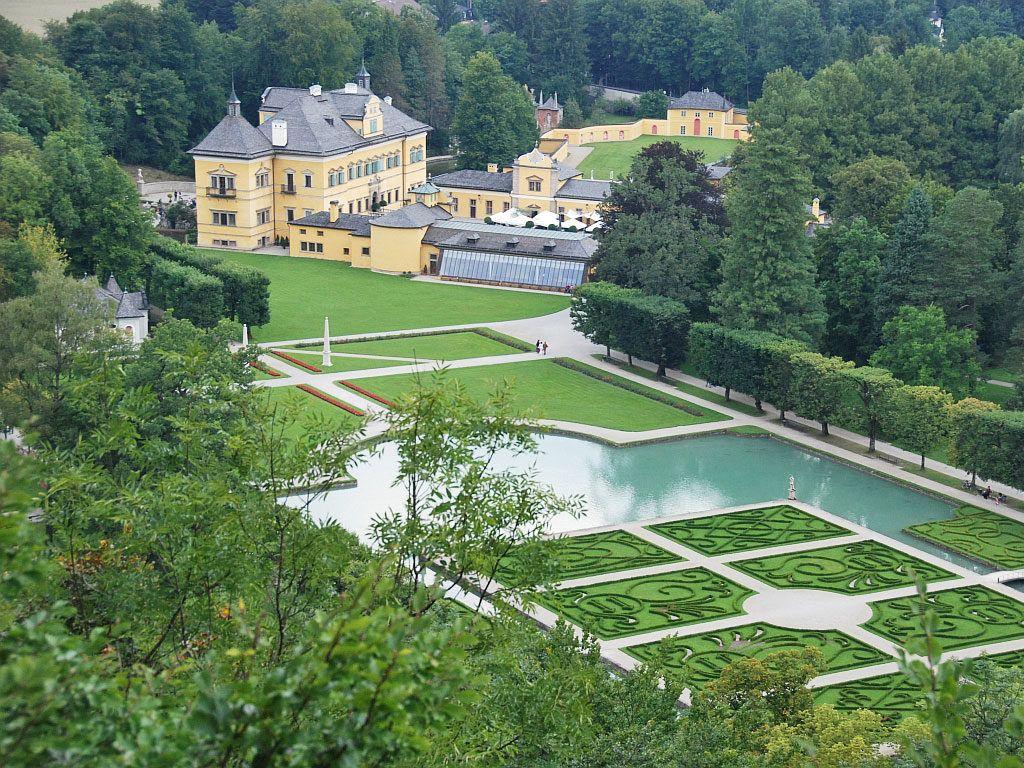 Дворец Хельбрунн, Австрия, Зальцбург