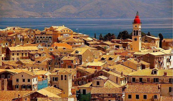 Керкира, остров Корфу, Греция