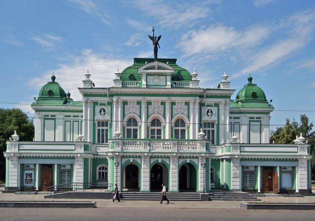 Успенский кафедральный собор в Омске