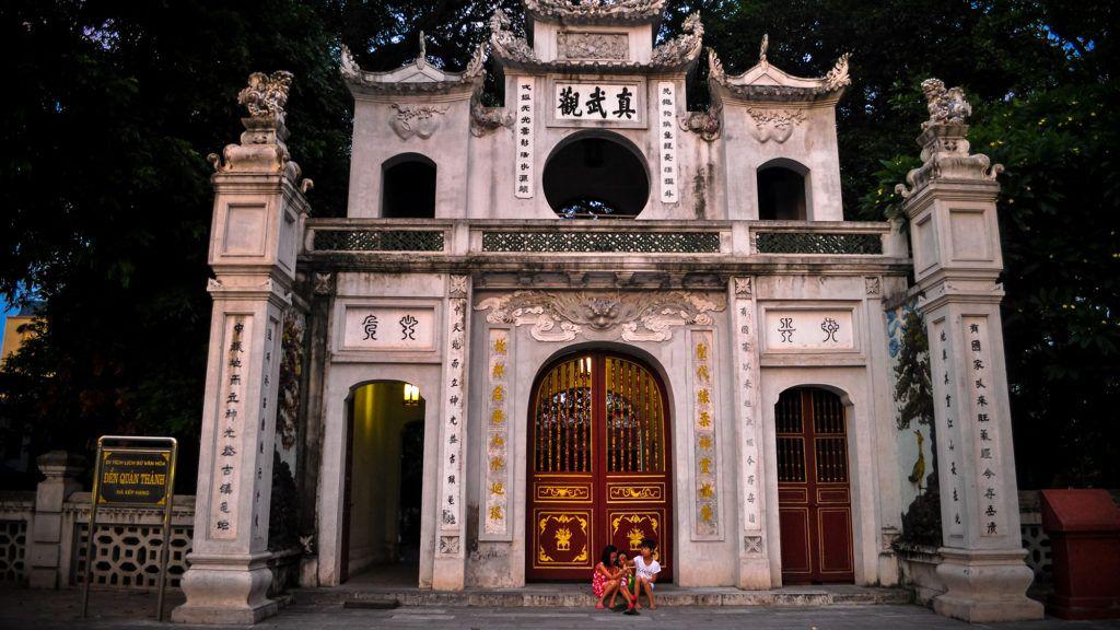Куан Тхань, Вьетнам, Ханой