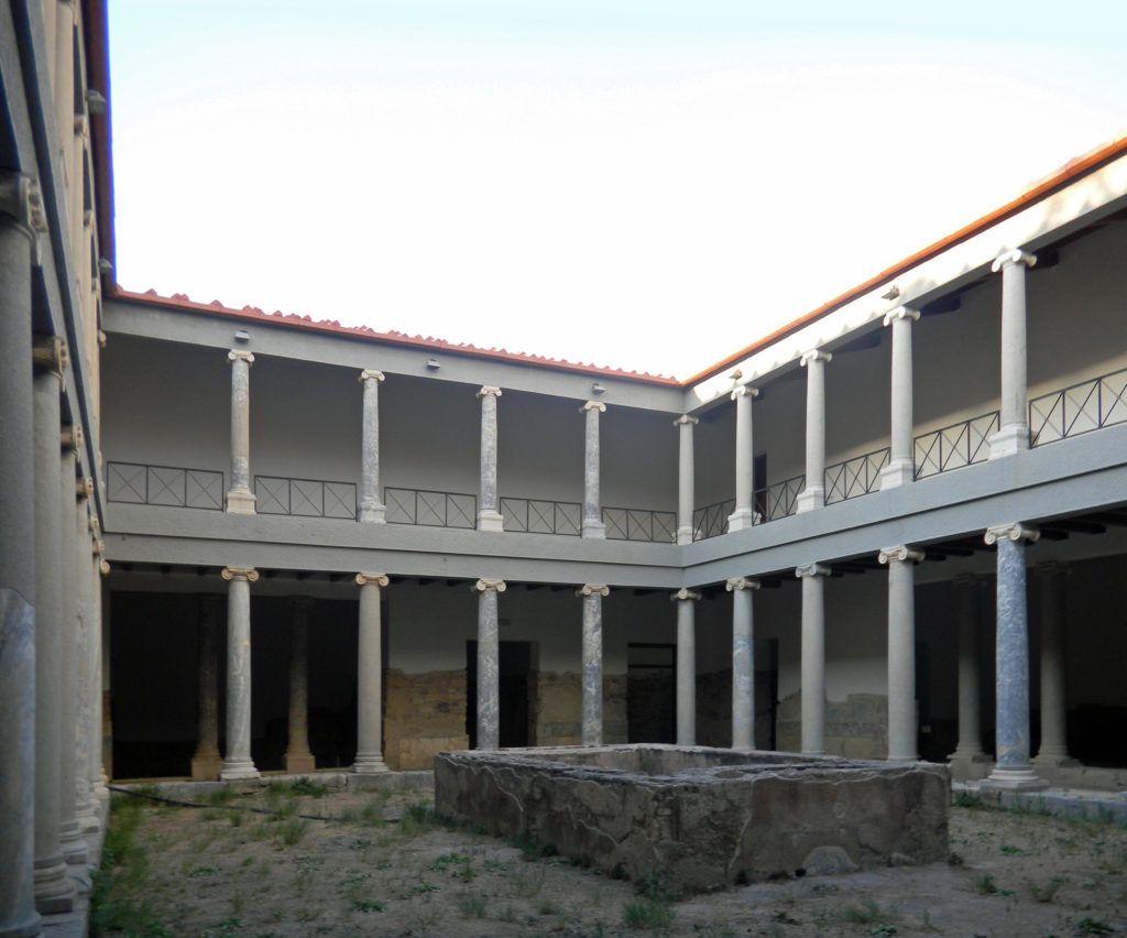 Римская вилла Каса Романа, остров Кос, Греция