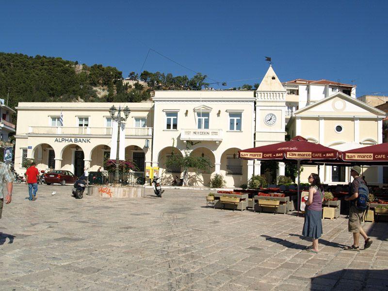 Площадь Святого Марка, Закинф, Греция