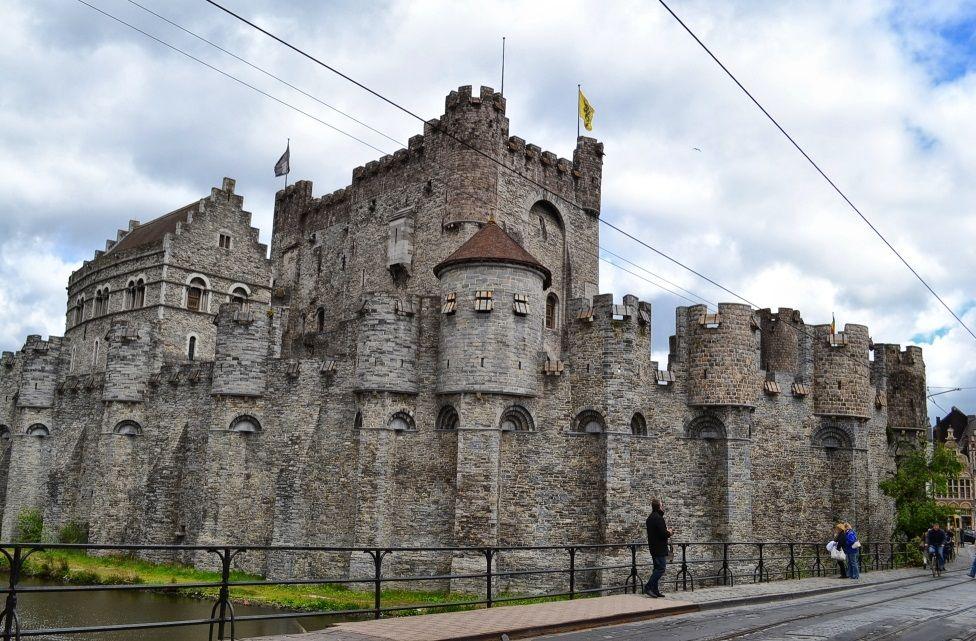 Замок Графов Фландрии, Гент, Бельгия