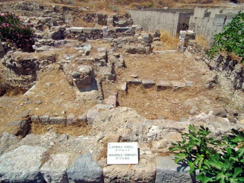 Храм Аполлона в Кардамене, остров Кос, Греция