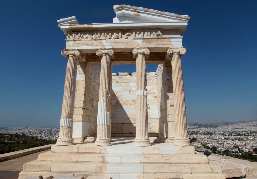 Храм Ники Аптерос, Афины