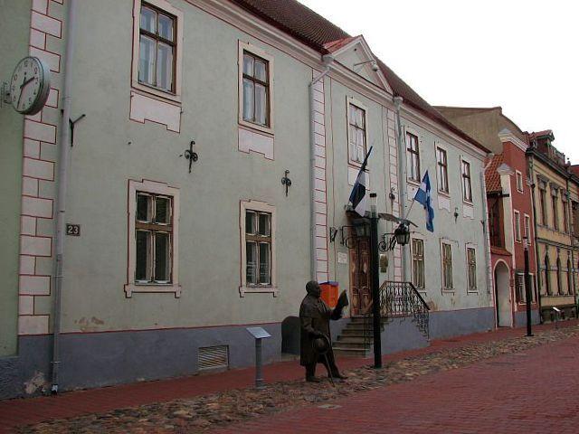 Здание муниципалитета в бывшем доме купца Мора, Пярну, Эстония
