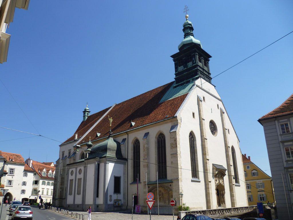 Католическая церковь, Грац, Австрия.