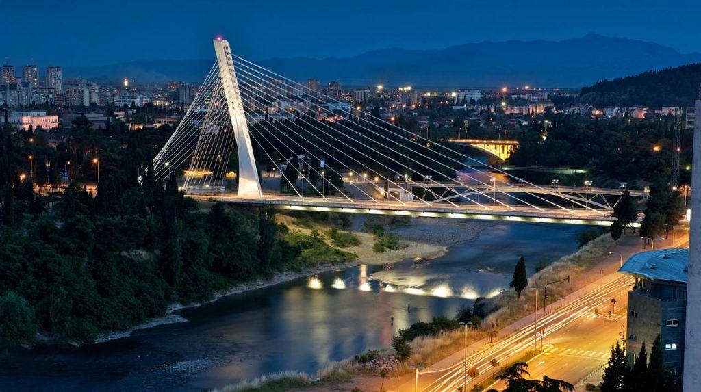 Мост Миллениум, Подгорица