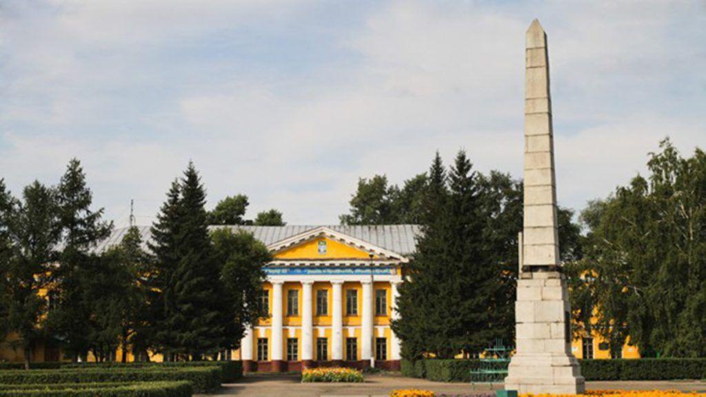 Демидовский столп, Барнаул