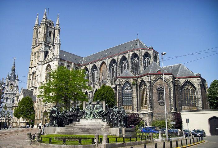 Собор Святого Бавона, Гент, Бельгия