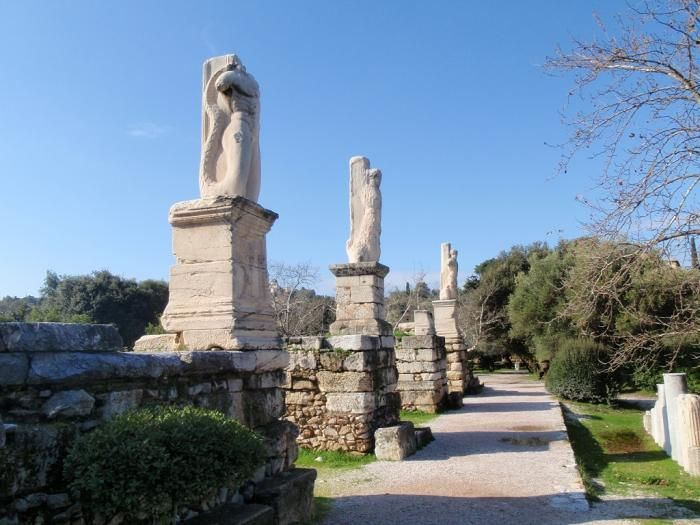 Концертный зал Одеон Агриппы в Афинах