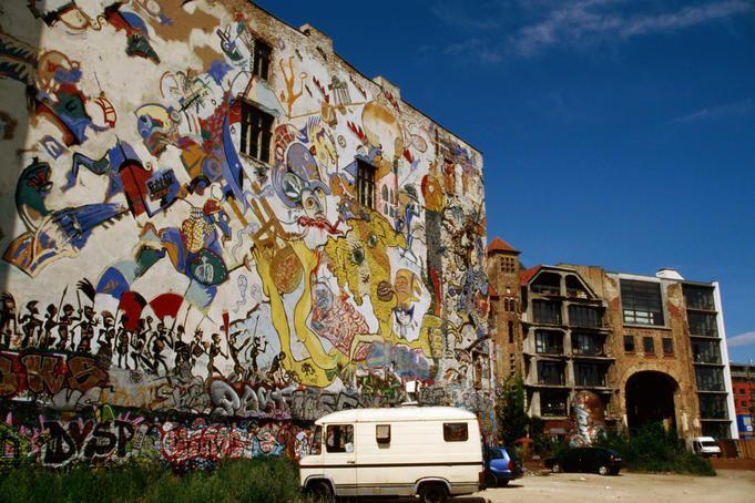 Сквот «Tacheles», Берлин
