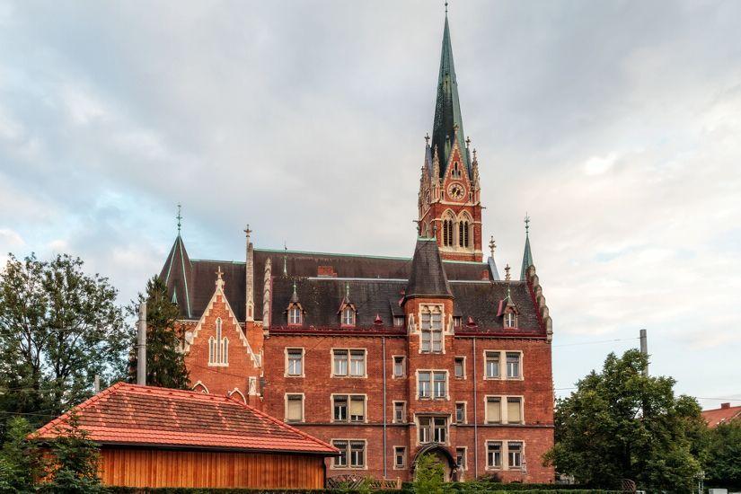 Церковь Сердца Иисуса, Грац, Австрия