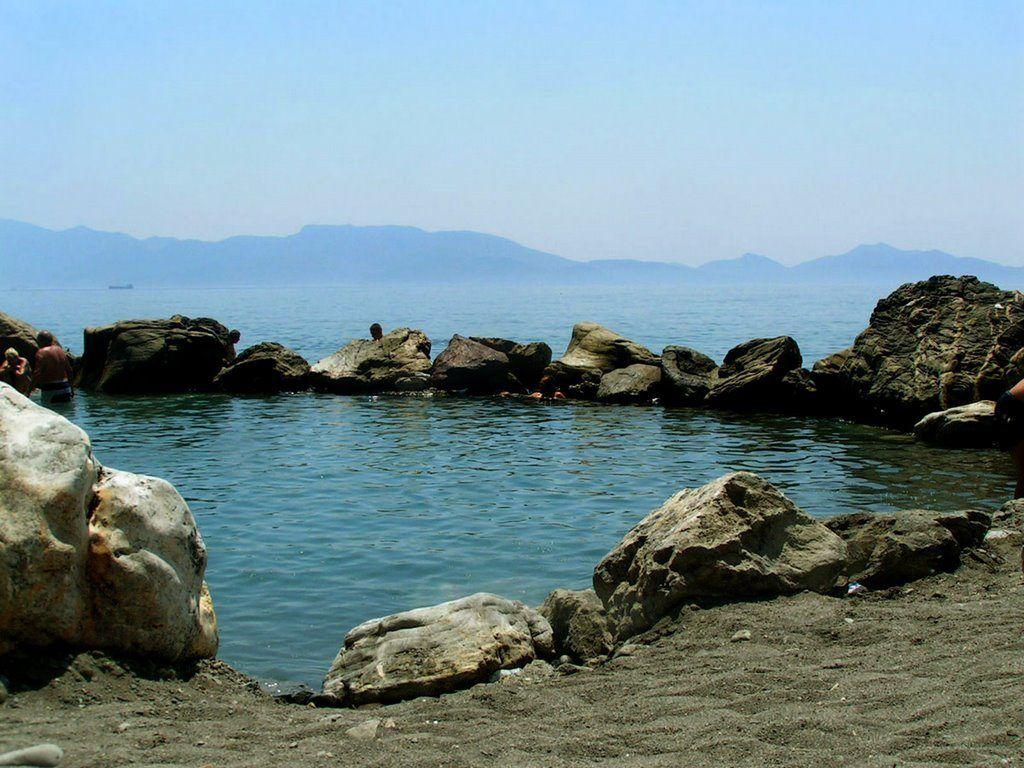 Горячие источники Терма, остров Кос, Греция