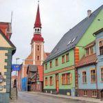 Портовый город Пярну, Эстония