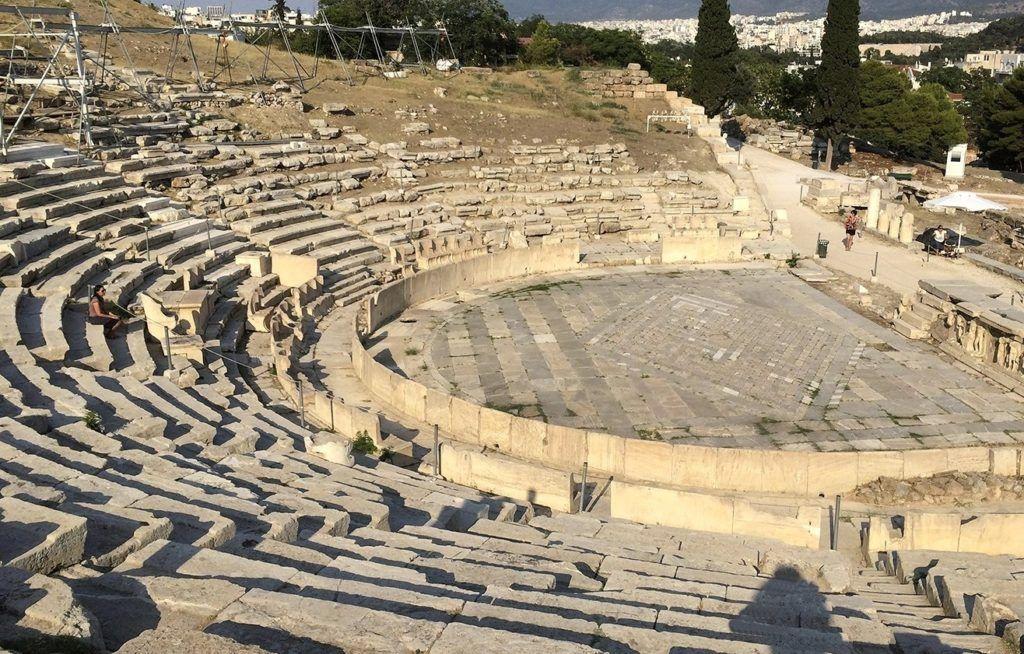 Театр Диониса, Афины