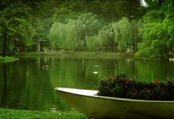 Ботанический сад Ханоя