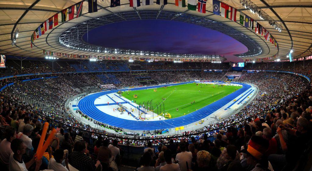 Германия, Берлин, стадион