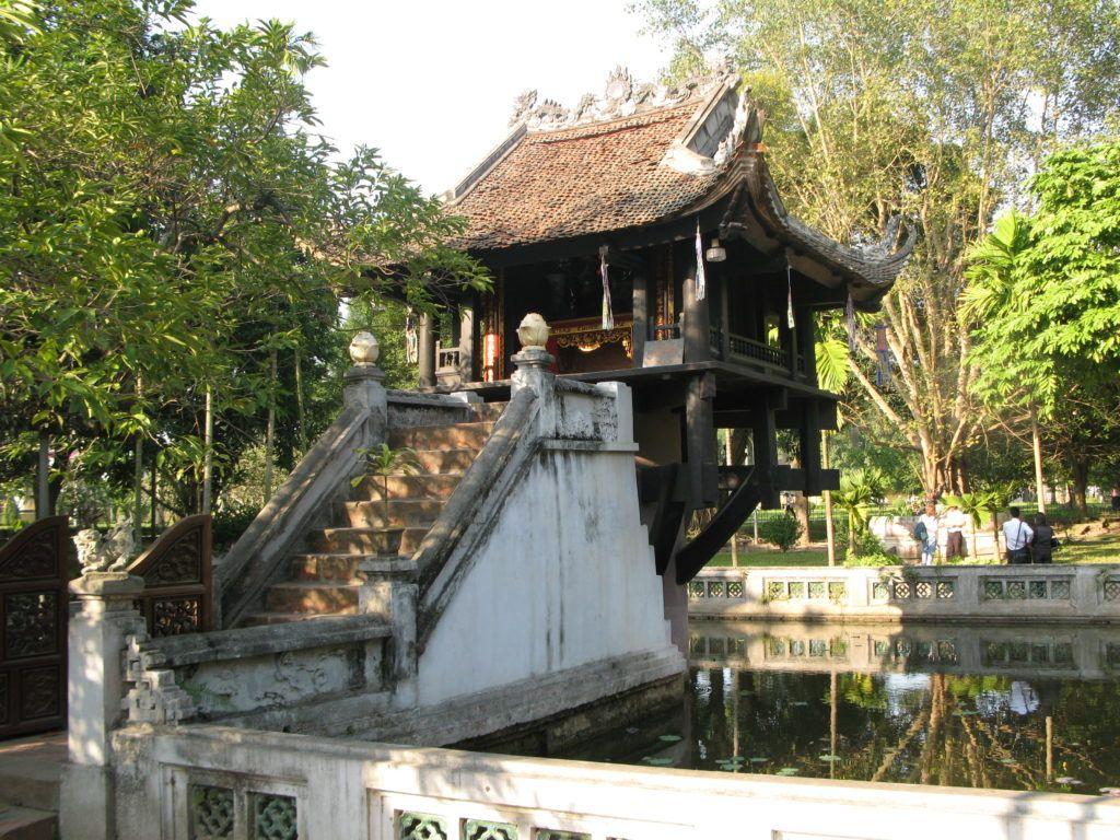 Пагода на одном столбе, Ханой, Вьетнам