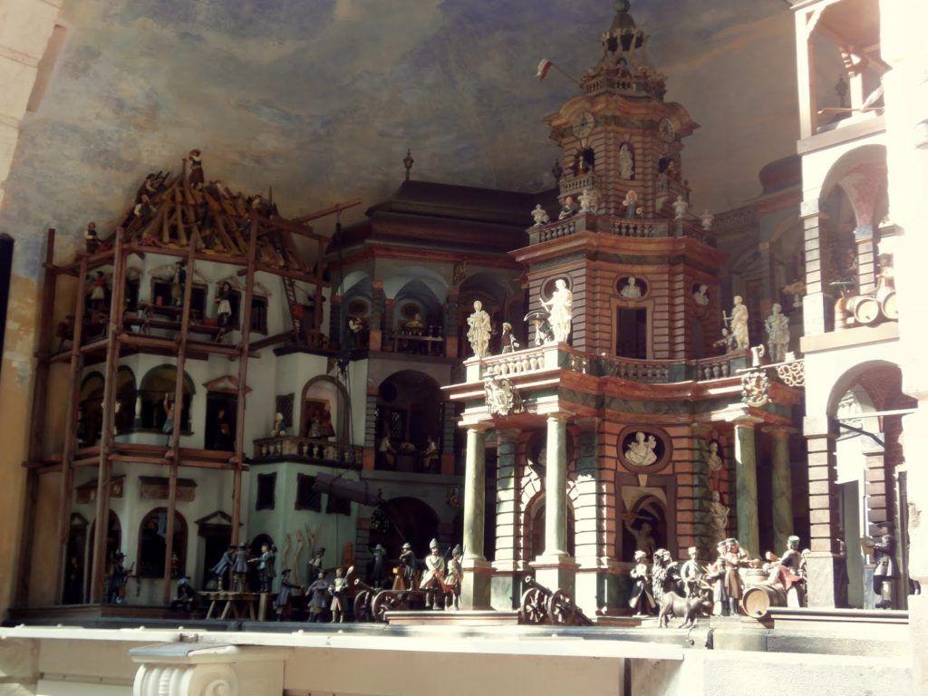 Механический театр во дворце Хельбрунн, Австрия, Зальцбург