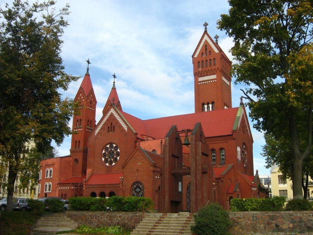 Костел святого Симеона и святой Елены, Минск, Белоруссия