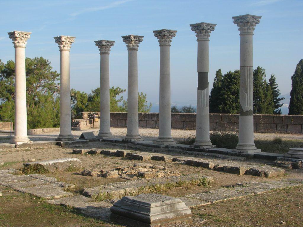 Асклепион, остров Кос, Греция