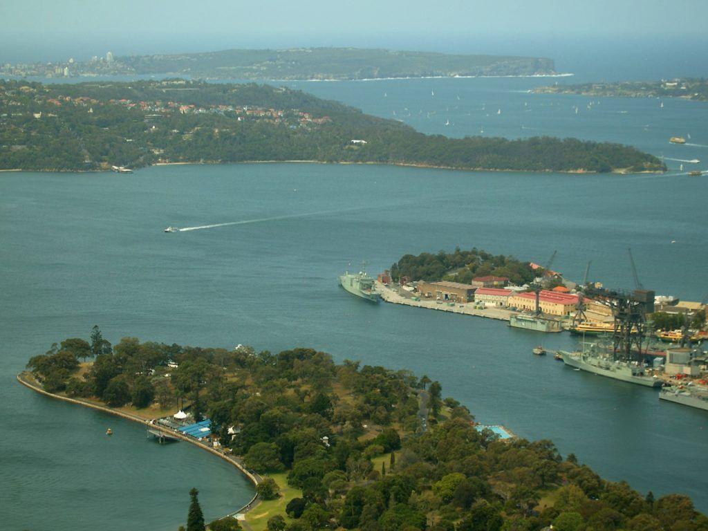Залив Порт-Джексон в Австралии