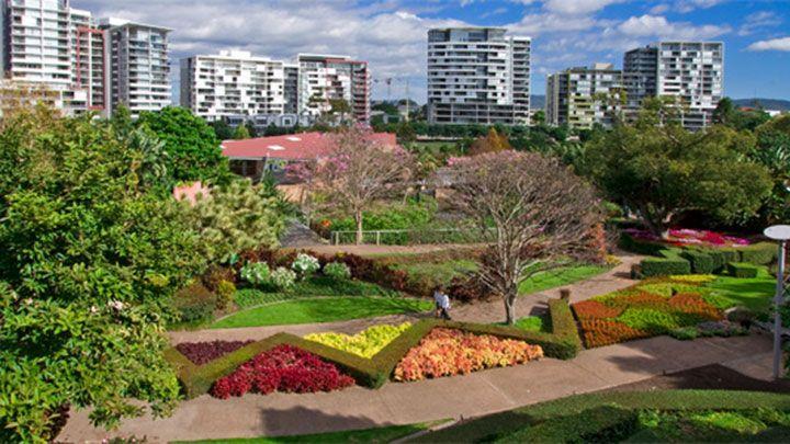 Roma Street Parkland , Брисбен, Австралия