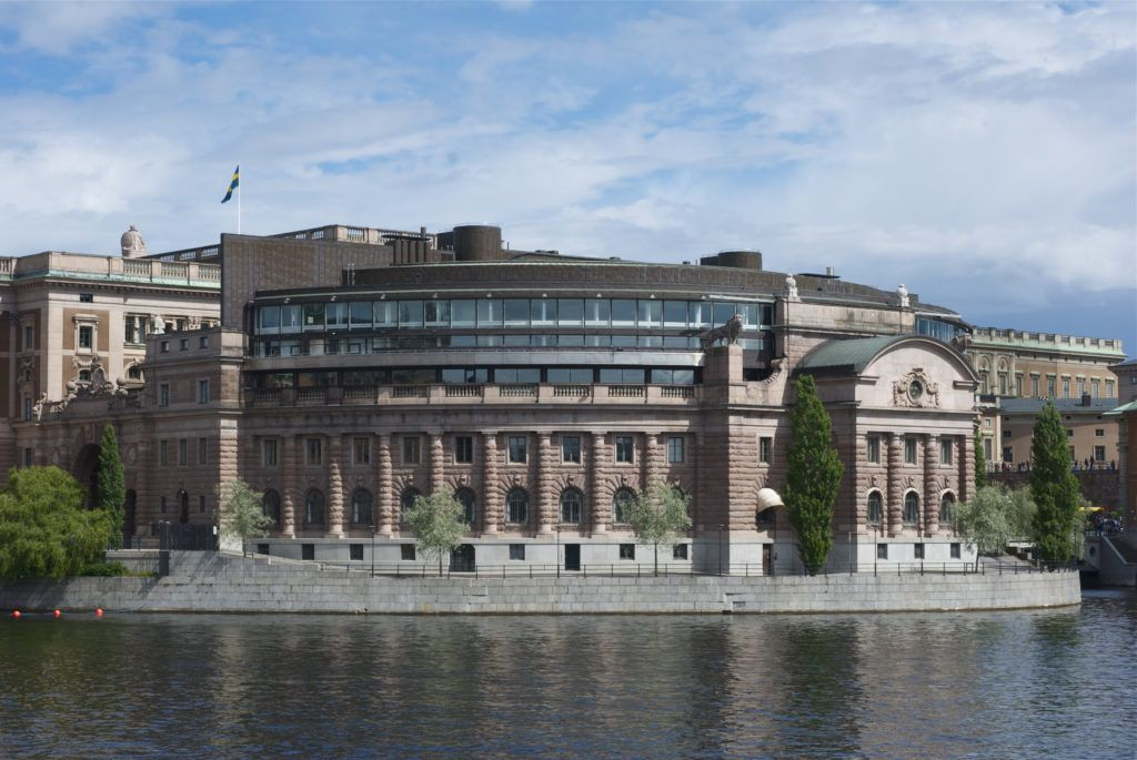 Шведский парламент, Стокгольм
