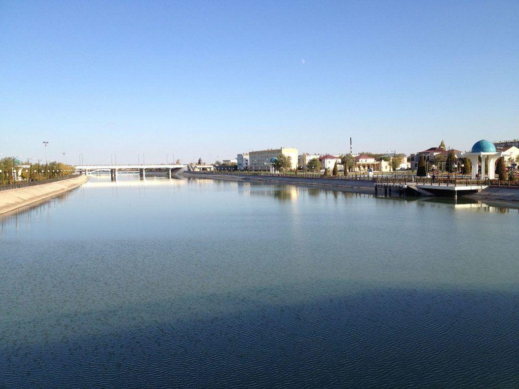 Канал Шават, река Амударья, Ургенч