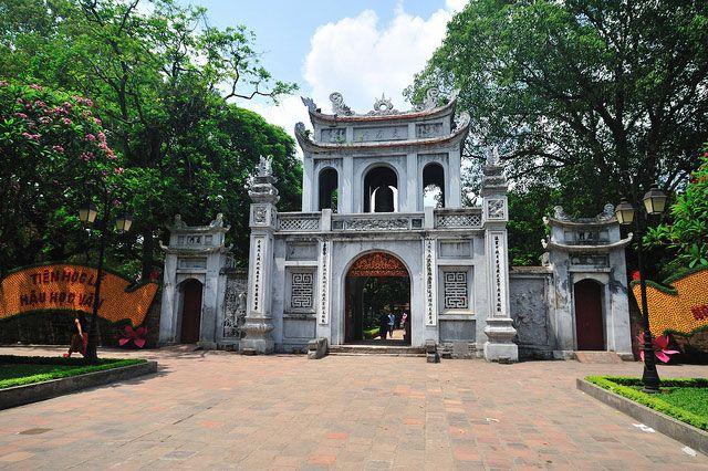 Литературный храм в Ханое