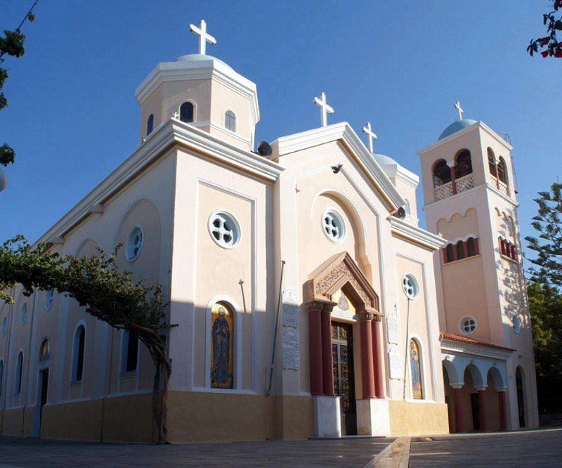 Церковь Святой мученицы Параскевы, остров Кос, Греция