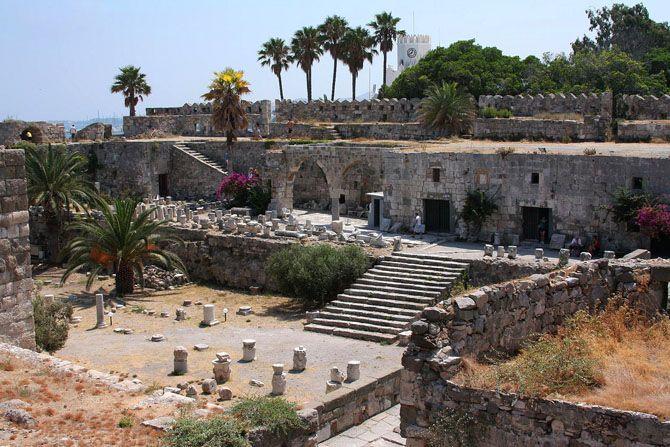 Цитадель мальтийских рыцарей, остров Кос, Греция