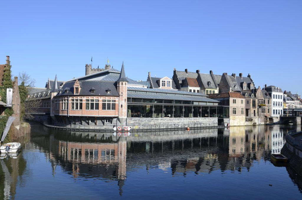Старый рыбный рынок в Генте, Бельгия