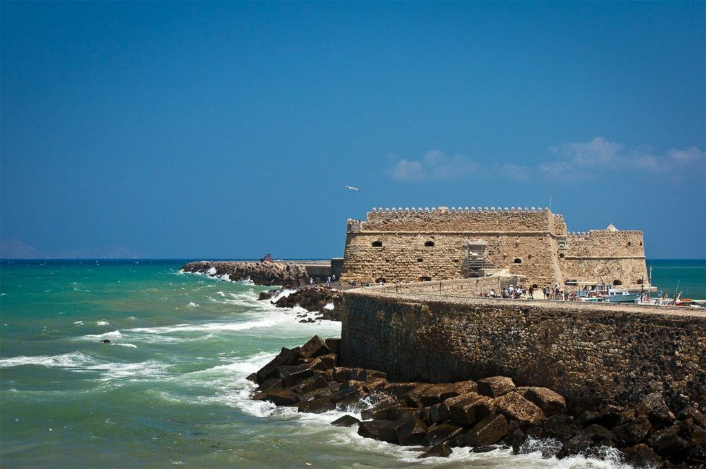 Крепость Кулес, Крит, Ираклион