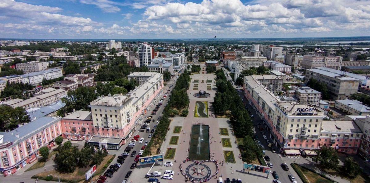 Барнаул на карте России Достопримечательности фото и описание города границы