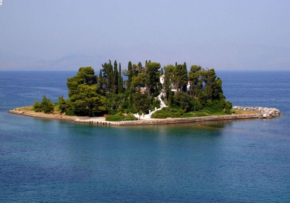 Понтикониси, Корфу, Греция