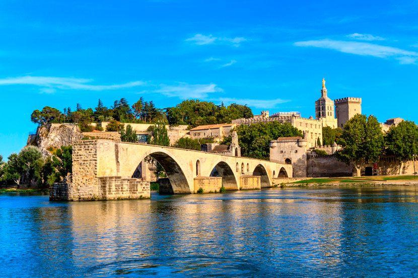 Мост в никуда, Авиньон, Франция
