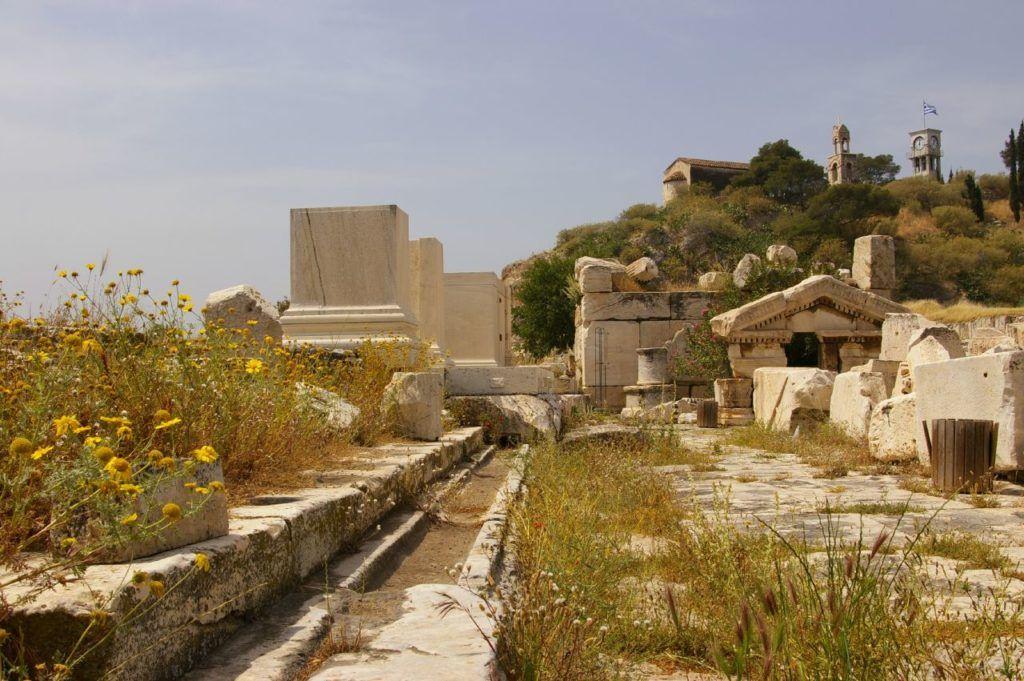 Элевсинские руины, Афины