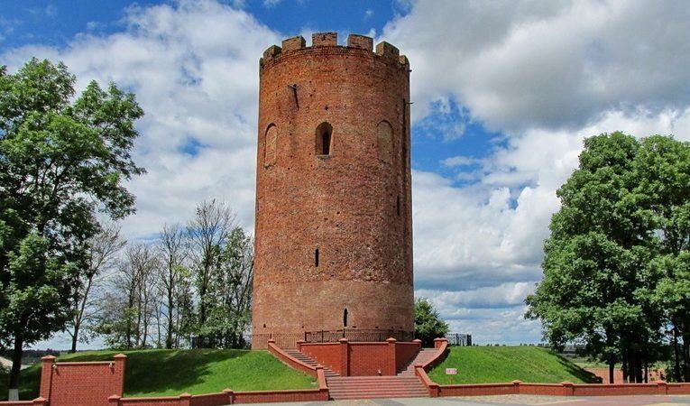 Каменецкая башня в Бресткой области, Беларусь