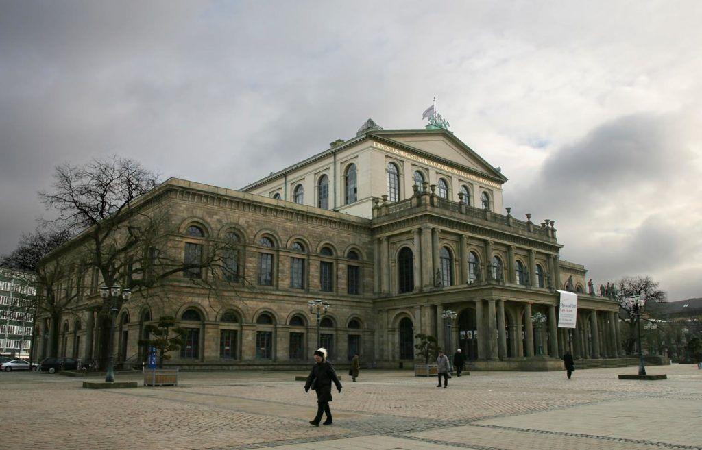 Оперный театр в Ганновере, Германия
