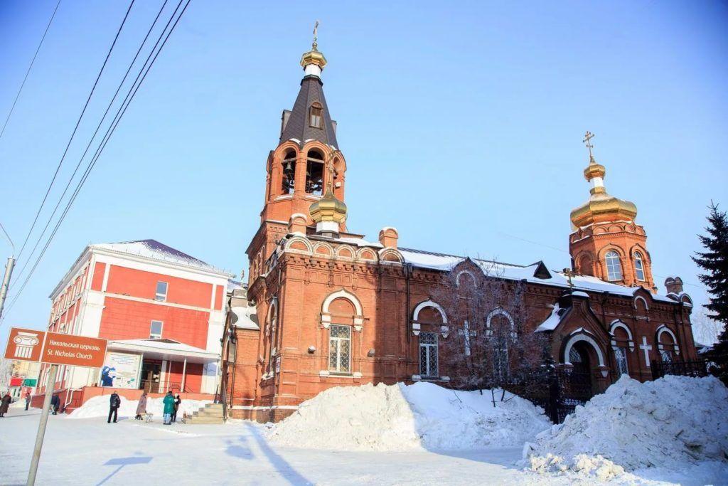 Полковая церковь Барнаула