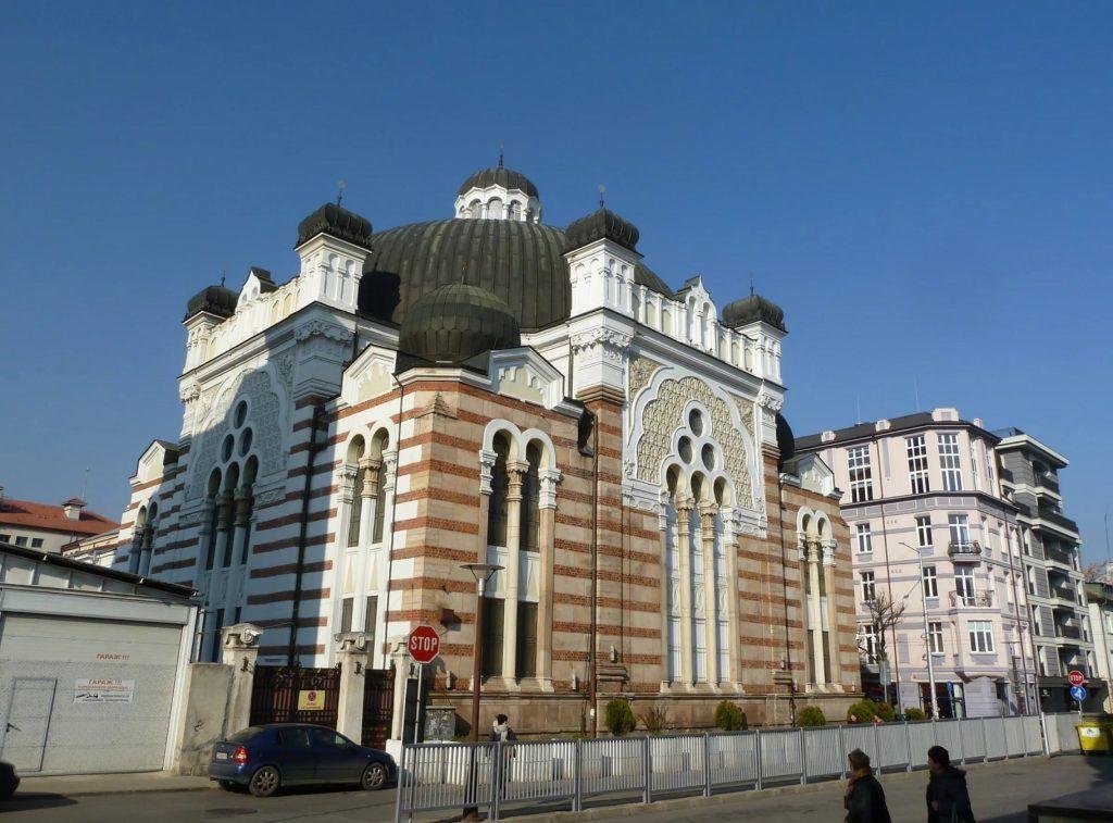 Синагога в столице Болгарии