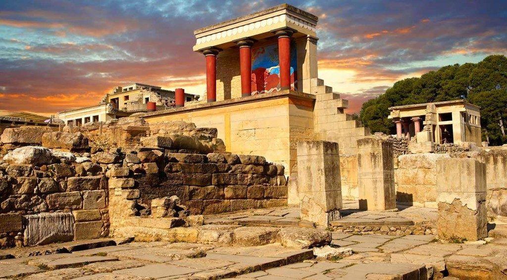 Кносский дворец, Ираклио, остров Крит