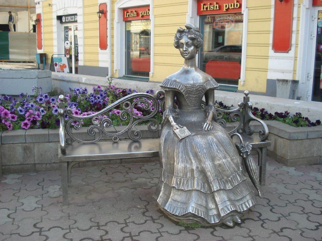 "Памятник ""Любаша"" в Омске"