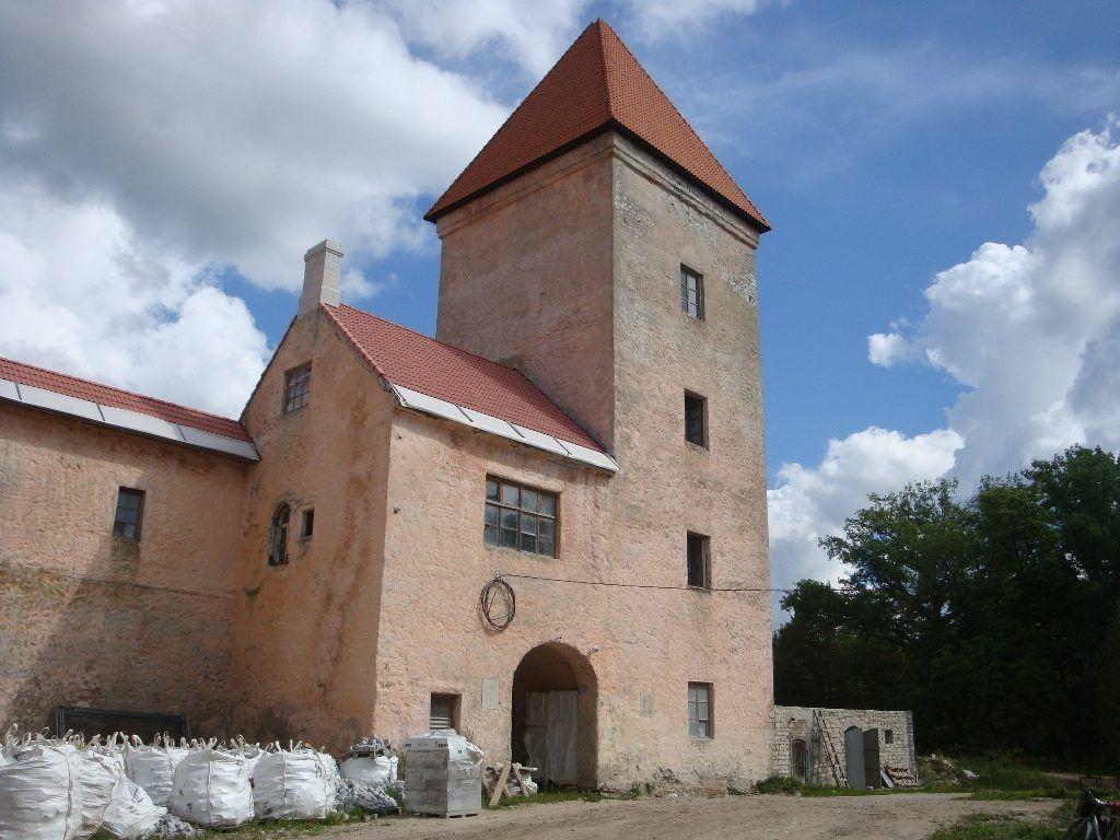 Замок Колувере на острове Сааремаа