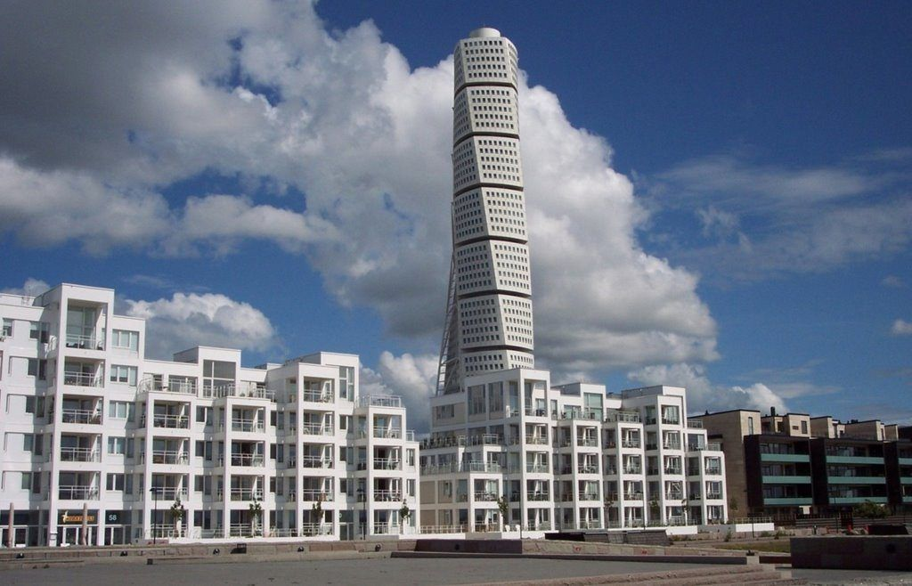 Здание HSB Turning Torso, Мальме, Швеция